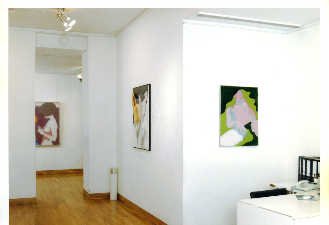 <p>EVELYNE AXELL Installation View</p>