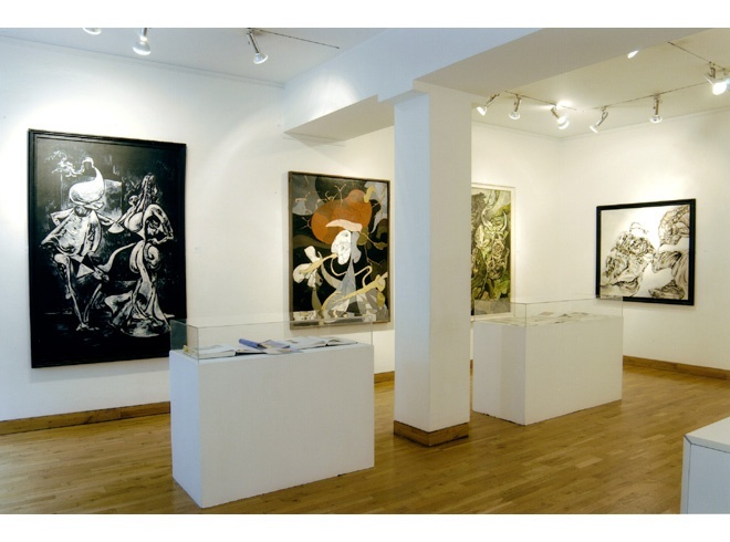 <p>KURT SELIGMANN Installation View</p>