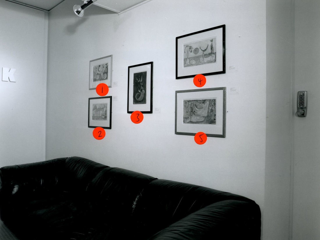 <p>SURREALISM IN BRITAIN Installation View</p>