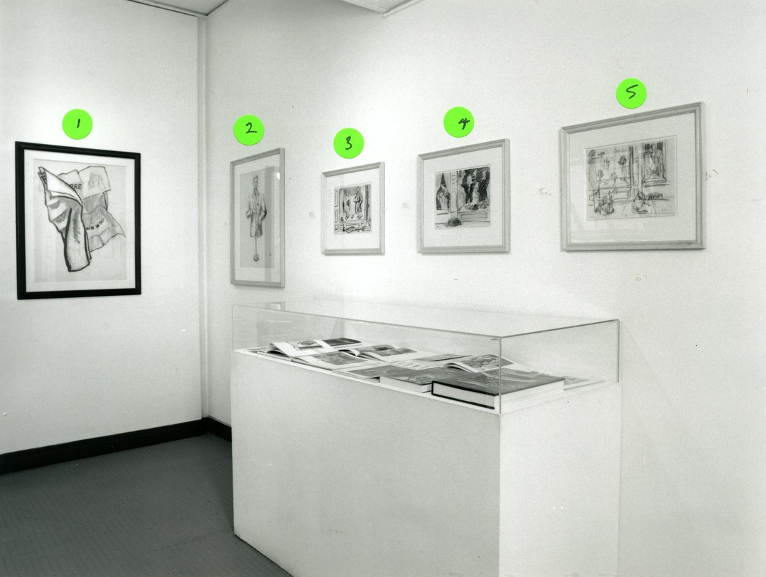 <p>JEAN HELION Installation View</p>