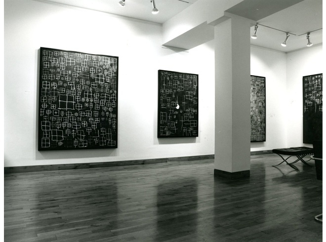<p>BRIAN CLARKE Installation View</p>