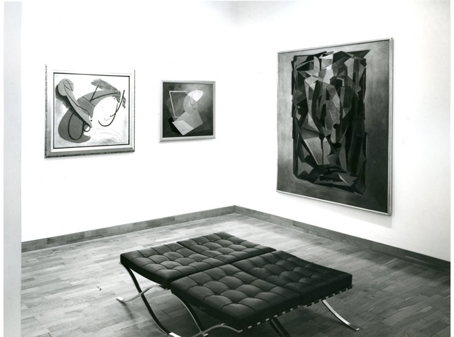 <p>BRITISH PAINTINGS OF THE 1930'S AND 1940'S Installation View</p>