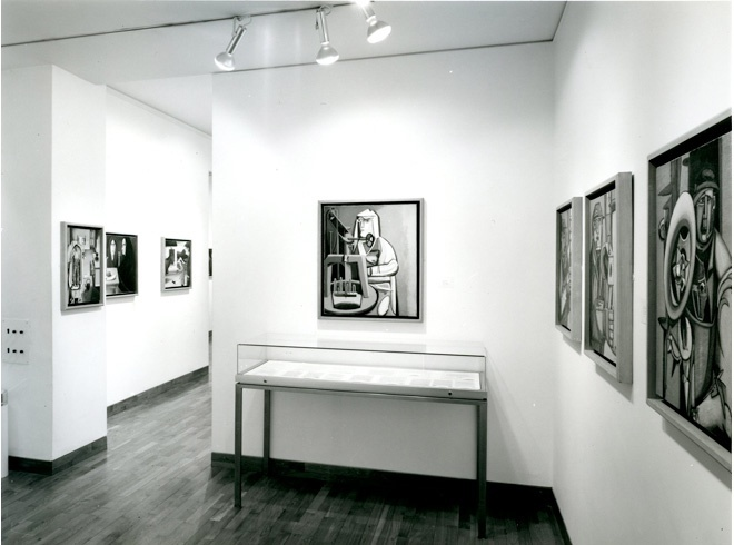<p>DAVID CARR Installation View</p>