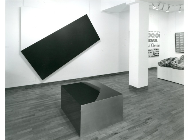 <p>A TRIBUTE TO LEO CASTELLI Installation View</p>