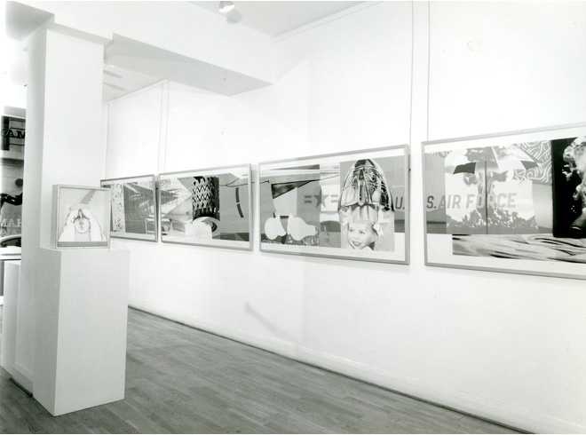 <p>NINE WORKS OF ART Installation View</p>