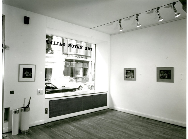 <p>JIM NUTT Installation View</p>