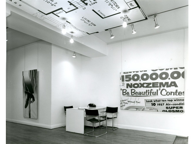 <p>JAMES ROSENQUIST Installation View</p>