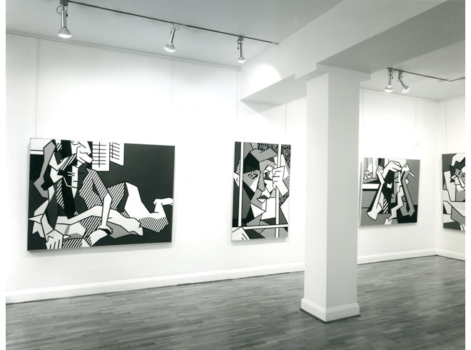 <p>ROY LICHTENSTEIN Installation View</p>
