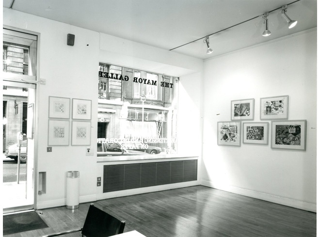 <p>PATTERN AND DECORATION ON PAPER Installation View</p>
