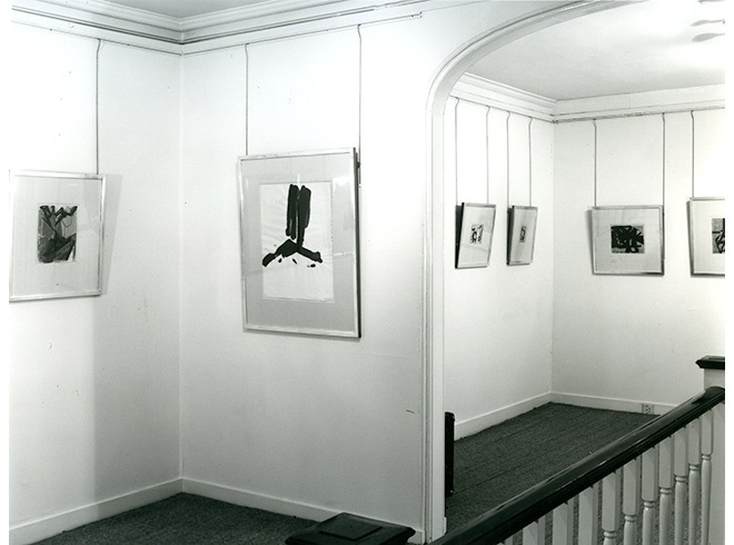 <p>FRANZ KLINE Installation View</p>