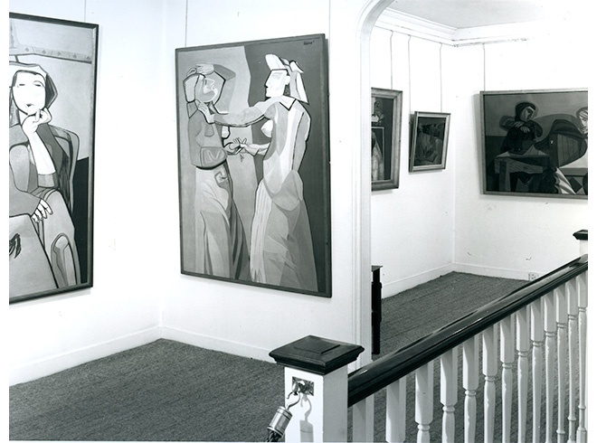 <p>ROBERT COLQUHOUN &amp; ROBERT MACBRYDE Installation View</p>