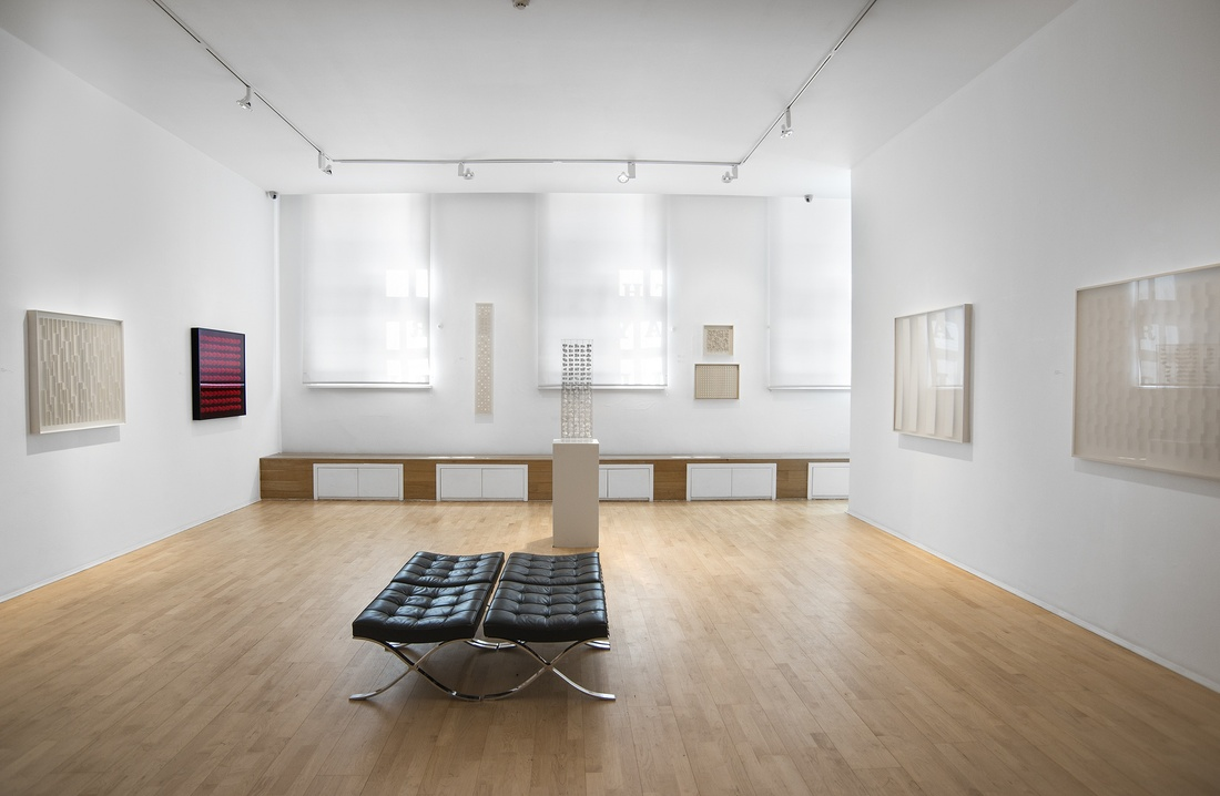 <p>KLAUS STAUDT Installation View</p>