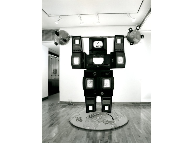 NAM JUNE PAIK Installation View