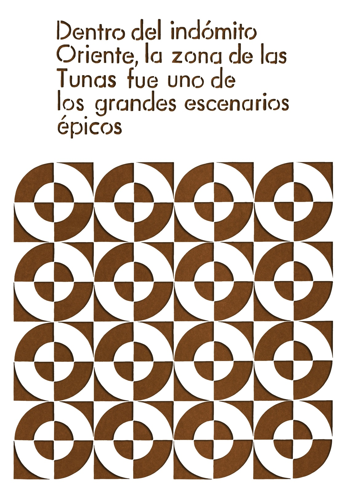 LATIN AMERICAN WORKS ON PAPER   9 January - 28 February 2018   The ...