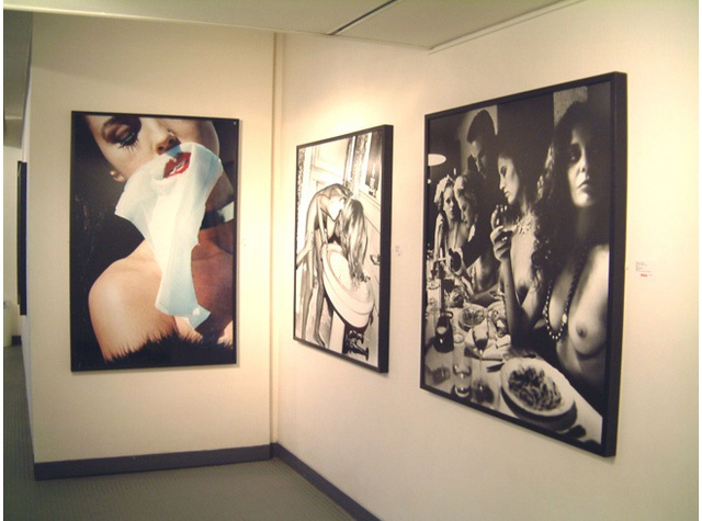 HELMUT NEWTON Installation View
