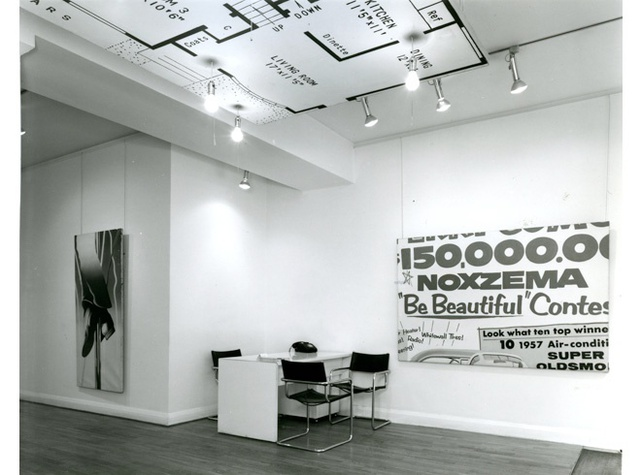 JAMES ROSENQUIST Installation View