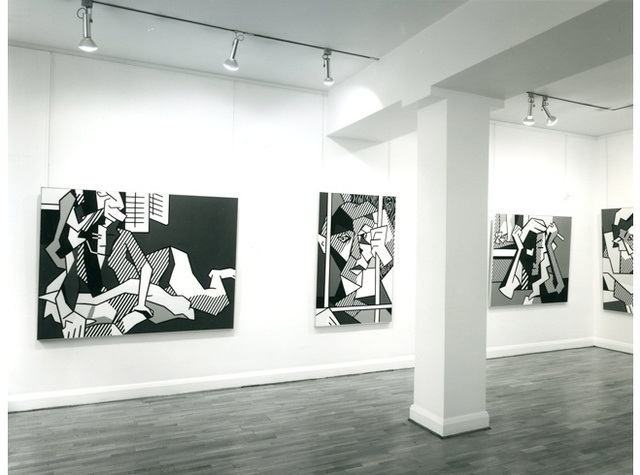 ROY LICHTENSTEIN Installation View
