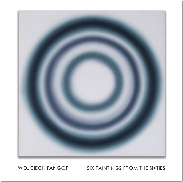 WOJCIECH FANGOR SIX PAINTINGS FORM THE SIXTIES